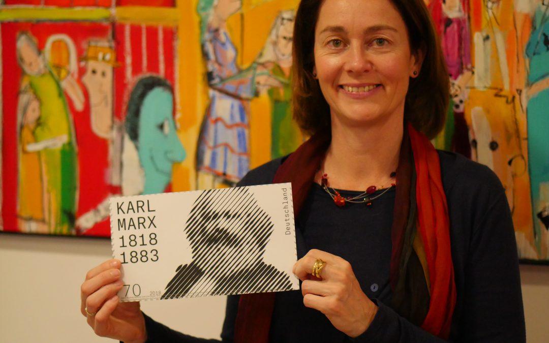 """Sonderbriefmarke """"Karl Marx"""" erscheint am 3. Mai"""